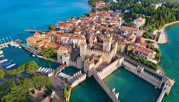 Sirmione ❤️ one of the most beautiful villages on Lake Garda