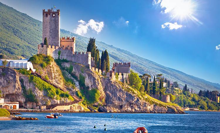 The Scaliger Castle of Malcesine -