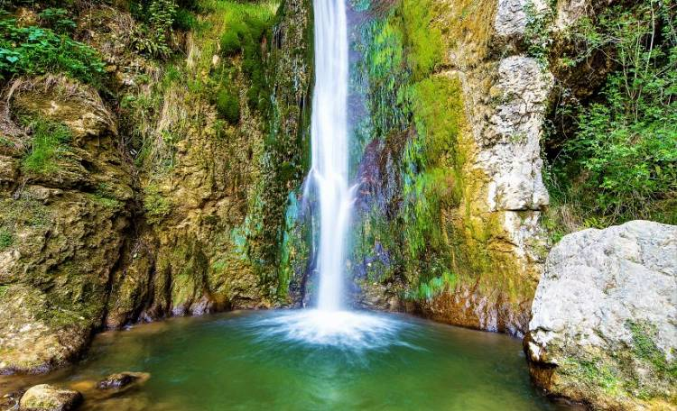 Molina Waterfalls Park, a natural landscape of incomparable beauty! -