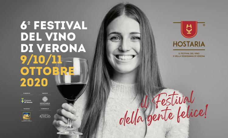 HOSTARIA 2020 (Verona Wine Festival) - 9/11 October 2020 - Verona Wine Festival, organized by the Hostaria Cultural Association in collaboration with the Municipality of Verona